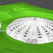 Piscine de Sannois numérisation 3D par scan